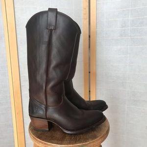 Frye genuine leather & Goodyear welt cowboy boot
